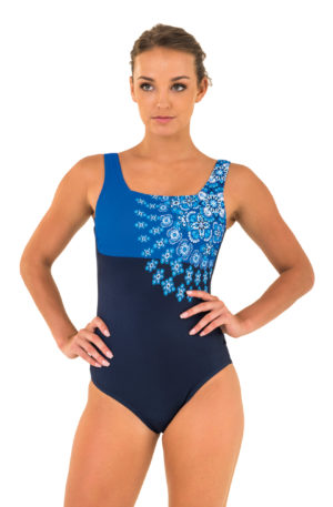 Zoggs craftwork sqneck one piece
