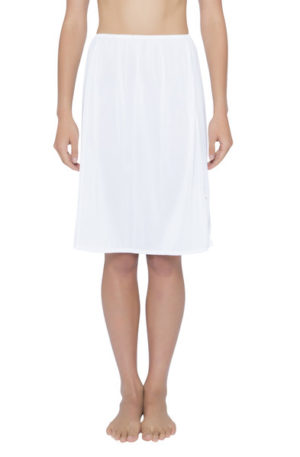 essence mid length half slip white