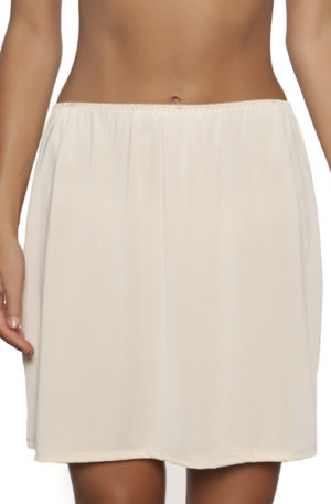 essence mini half slip nude