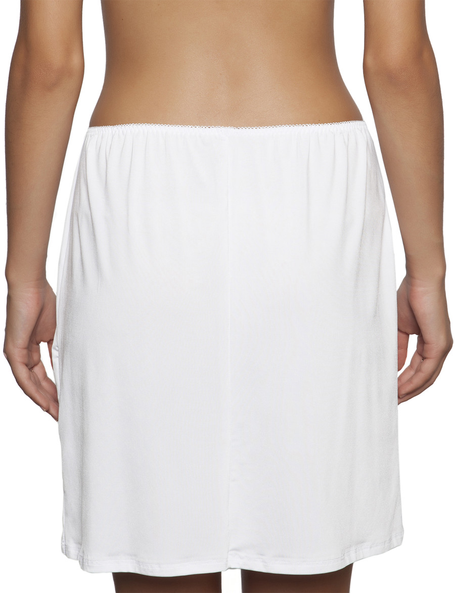 essence mini half slip white
