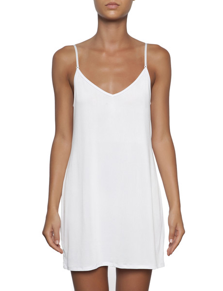 essence reversible white tunic slip